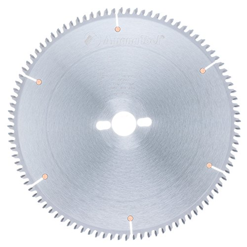 Amana Melamine Blade (Amana Tool MSB1296-30 Carbide Tipped Double-Face Melamine 12 Inch D x 96T H-ATB, -6 Deg, 30MM Bore, Circular Saw Blade)
