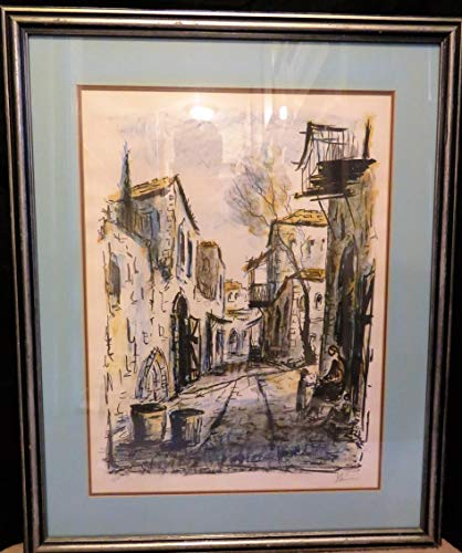 Biography Used with Permission from askart.com<br> Artist Zvi Raphaeli, Israeli Impressionist Born 1924 Suez Egypt, Died 2005. Educated in Paris from age 3. He was member of the French resistance during WW II. He resided in Israel and USA. Artist (Tzvi) Zvi Raphaeli 1924 - 2005 Lithograph a/p of 250, Artist Proof 24 in x 18 in, Frame 32 in x 26 in