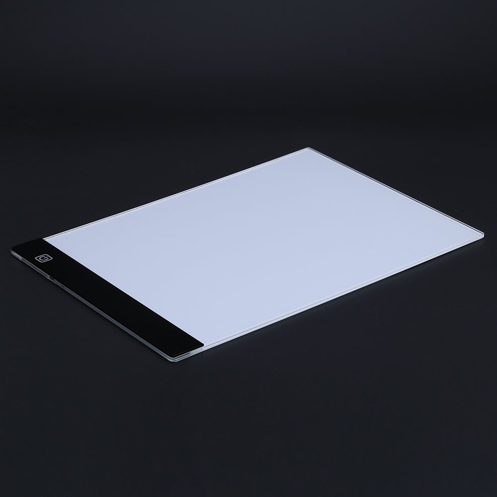 A4 LED Light Box Drawing Board - BESTGIFT Tracing Board USB Power Ultra-Thin Digital Tablet Brightness Adjustable Pad Copy Table for Artist by BESTT (Image #4)