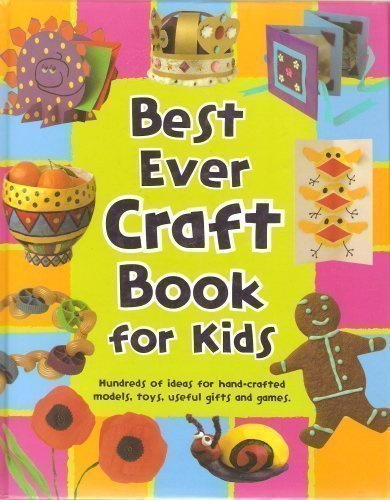 Best Ever Craft Book for Kids