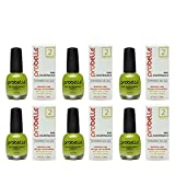 Probelle Nail Maintenance with Garlic and Lime, Formula 2, Clear, .5 Fluid Ounce (6 Pack)