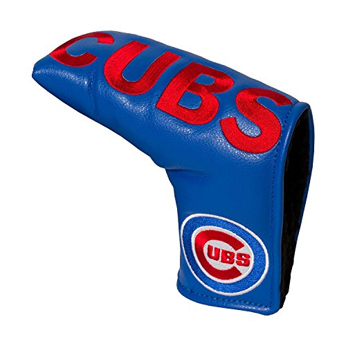 Team Golf MLB Chicago Cubs Golf Club Vintage Blade Putter Headcover, Form Fitting Design, Fits Scotty Cameron, Taylormade, Odyssey, Titleist, Ping, Callaway