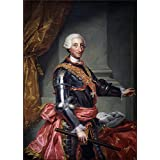 The high quality polyster Canvas of oil painting 'Mengs Anton Rafael Carlos III Ca. 1761 ' ,size: 20 x 28 inch / 51 x 71 cm ,this High Definition Art Decorative Canvas Prints is fit for Nursery decor and Home decoration and Gifts