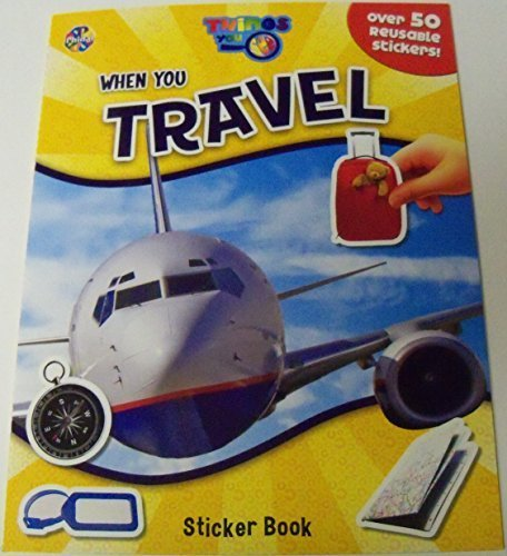 Educational Things You See Sticker Book  When You Travel (Over 50 Reusable Stickers) by Phidal