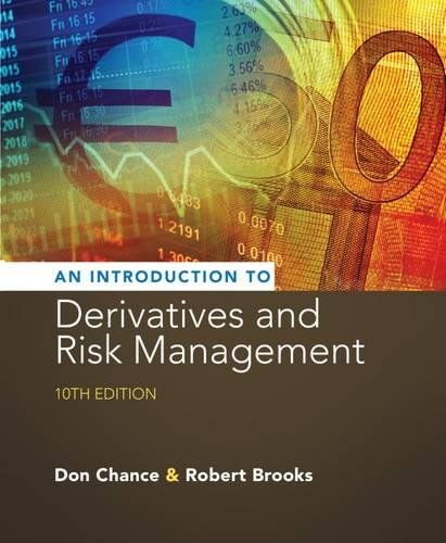 Introduction to Derivatives and Risk Management (with Stock-Trak Coupon) -  Chance, Don M., 10th Edition, Hardcover