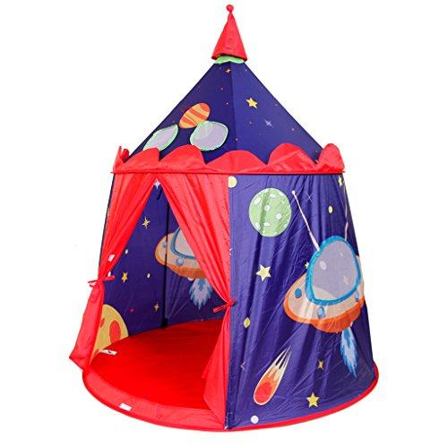 MagiDeal Nuevo Tienda Castillo de Espacio Exterior Casa de Juegos Juguete al Aire Libre Interior para Niños