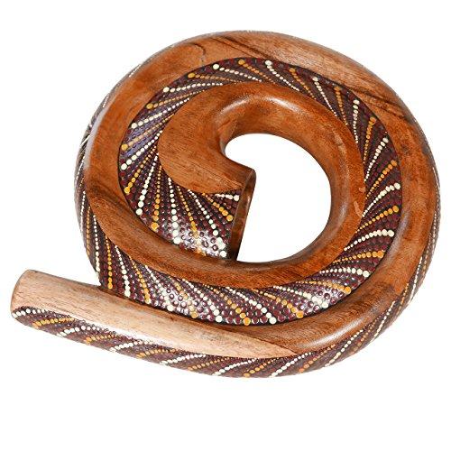 X8 Drums Painted Spiral Wood Didgeridoo with Bag (X8-DIDG-SPRL-PT-BG