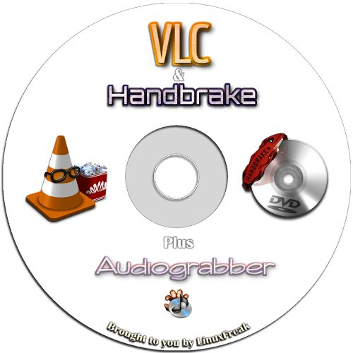 Vlc Media Player   Plays Dvd  Cd  Mp3  Almost All Media Files  Includes Handbrake Dvd Ripping Software
