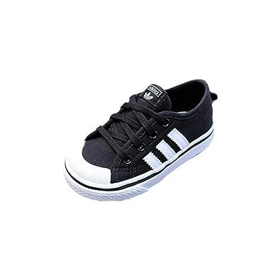 style actuel 100% authentifié qualité et quantité assurées Adidas - Nizza I - Baskets enfant - Noir/Blanc - 27 EU ...
