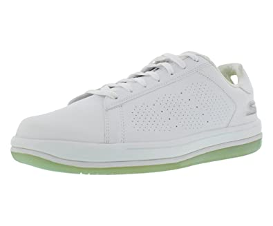 skechers on the go element white