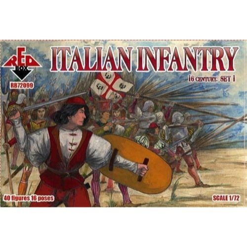 Red Box rb72099 – Figuras Italian Infantry, 16th Century, Set 1 ...