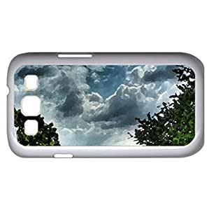 Fountain - Watercolor style - Case Cover For Samsung Galaxy S3 i9300 (White)