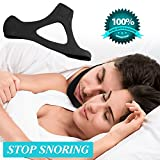 Yuminer Adjustable Anti Snore Chin Strap--Most Comfortable Stop Snoring Solution & Natural Sleep Aid with Instant Snore Relief and Ease Breathing