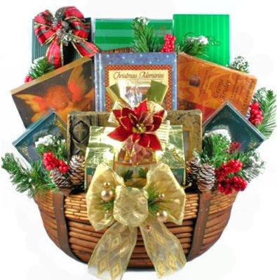 A Christian Christmas Gourmet Food Gift Basket