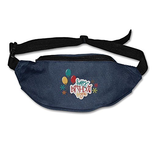 The Collection Of Funny Birthday Running Belt Adjustable Navy Waist Fanny Pack Bum Bag Hiking Fitness Runners Waist Bag For Men Women