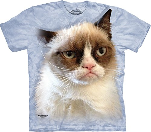 The Mountain Grumpy in Blue T-Shirt, XX-Large, Blue