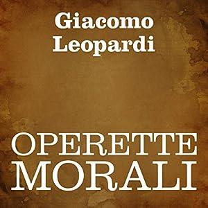 Operette morali Audiobook