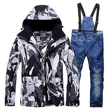 YJIU-ski suit Traje de Esquiar Trajes de esquí Nueva for Hombres y ...