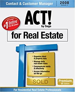 ACT! by Sage Premium for Real Estate 2008 (10.0)