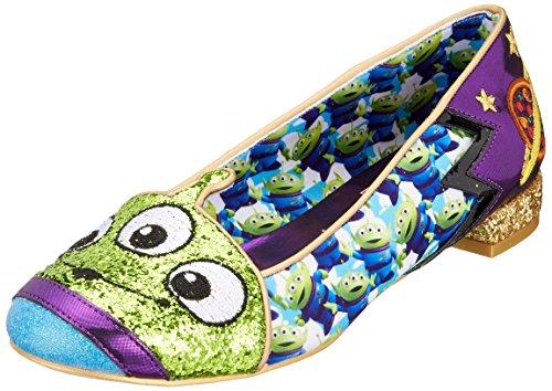 Irregular Choice Disney Toy Story Eternally Grateful Green Blue B07BZY24GV Flat Sho Size B07BZY24GV Blue Shoes 23aa43