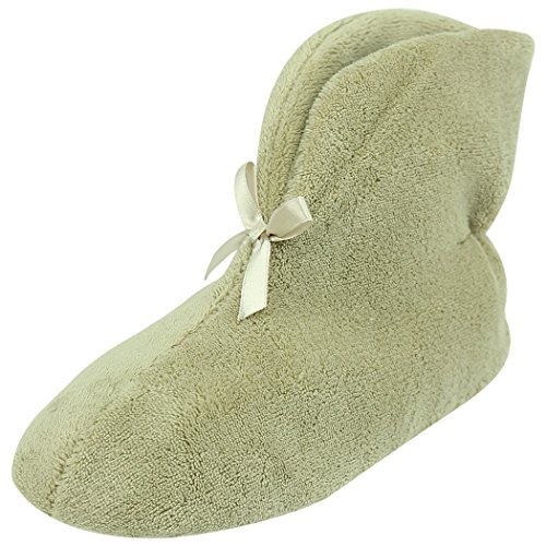 Beige Slipper House Non Home Indoor Shoes Womens Slip Coral Slippers Warm Velvet Boots Winter qBORwBa6x