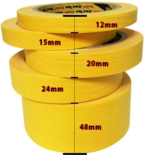 Amazon.com: 3M Best Masking Tape Self_Painting, Tape and Drape Pre-Taped Masking Film (65 Feet) (Refinished Masking tape 43.7 Yd (1.89 In)): Office Products
