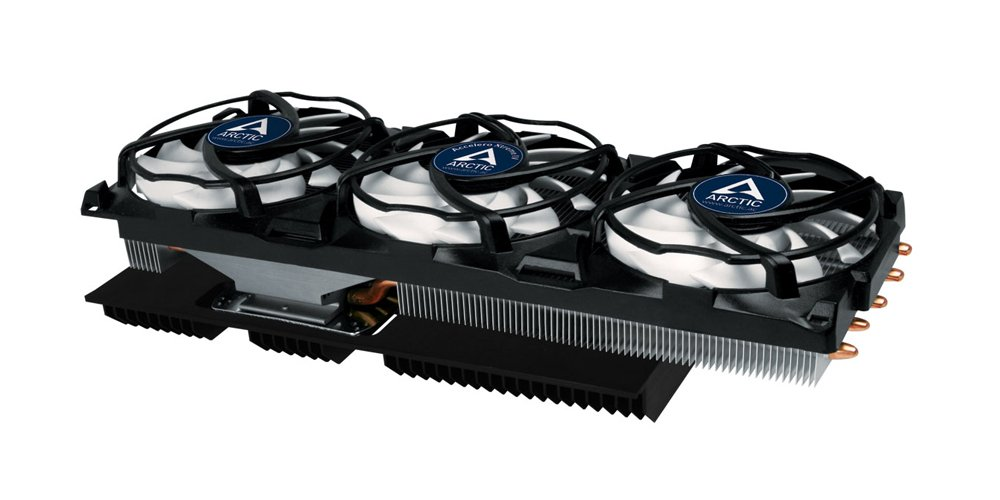 ARCTIC Accelero Xtreme IV High-End Graphics Card Cooler with Backside Cooler for Efficient RAM and VRM-Cooling DCACO-V800001-GBA01 by ARCTIC