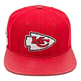 Pro Standard Men's NFL Kansas City Chiefs Logo Buckle Hat W/Pins Red