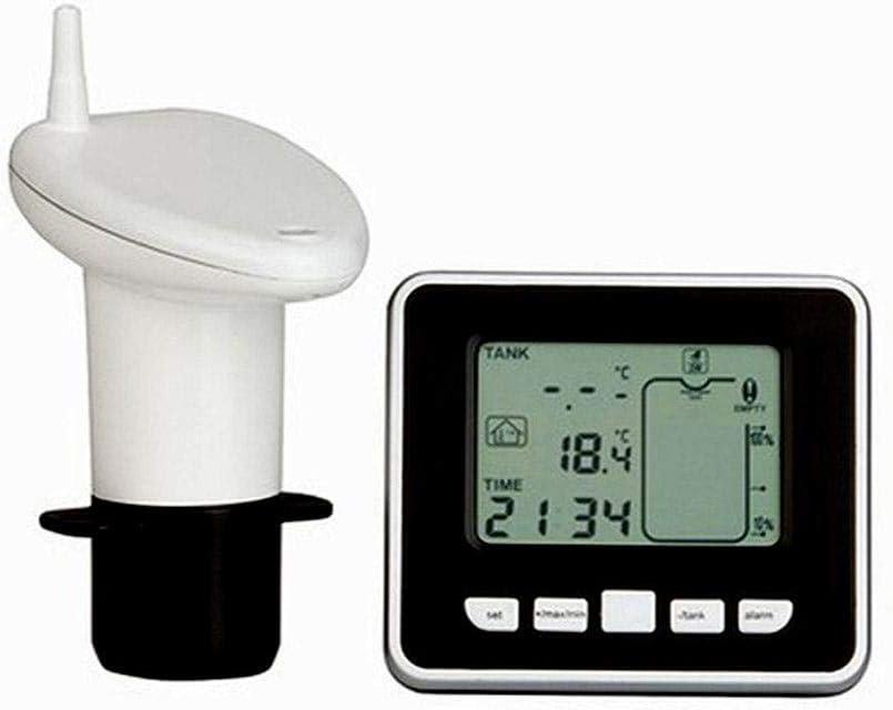 Huhu - Medidor de ángulo digital, medidor de nivel ultrasónico, indicador de temperatura de líquido, indicador de temperatura interior