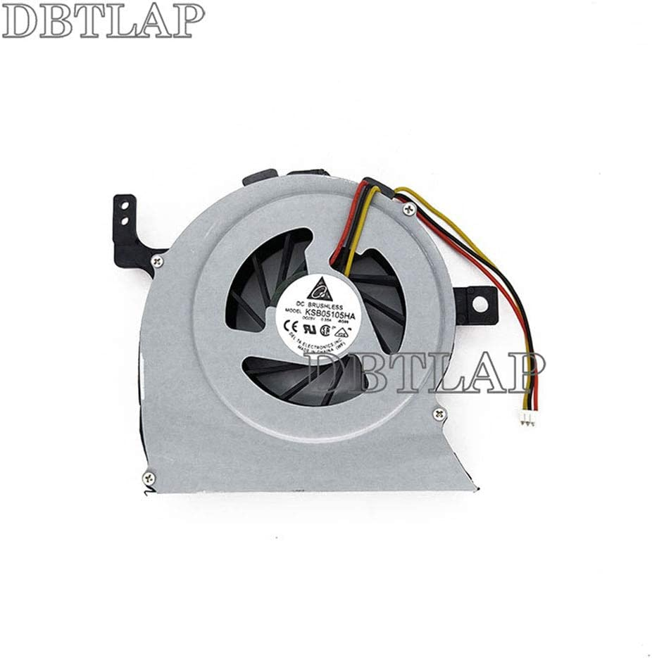 DBTLAP Laptop CPU Fan Compatible for Toshiba Satellite L645D-S4050 L645D-S4100WH L645D-S4037RD L645D-S4100