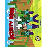 Activity Book for Kids-Minecrafters ages 6 9 12. Coloring Book of Zombies. Unofficial minecraft version: activity books 7 8 10 year olds 4th 6th grade ... book for kids unofficial minecraft series)