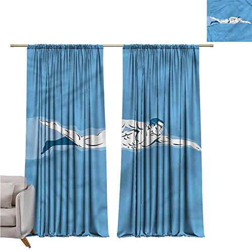 zojihouse Olympics Awning Room Darkening Curtain 62