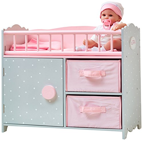 Olivia's Little World Polka Dots Princess Baby Doll Crib