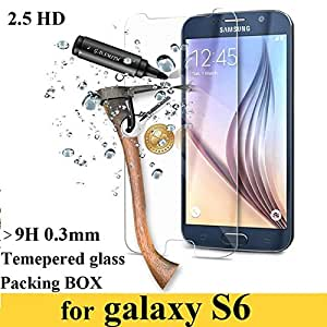 Tempered Glass For Galaxy S6 9H Premium Real Screen Protector Film Guard For Samsung S Vi G9200 G9208 G9209 With Retail Package-