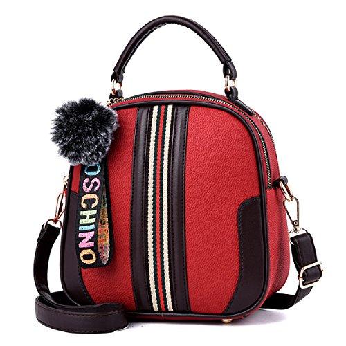 Bolsos De Equipaje Nuevo Pequeño Bolso Diagonal Del Hombro De La Moda De Moda Elegante Temperamento Seguro 976587 Red