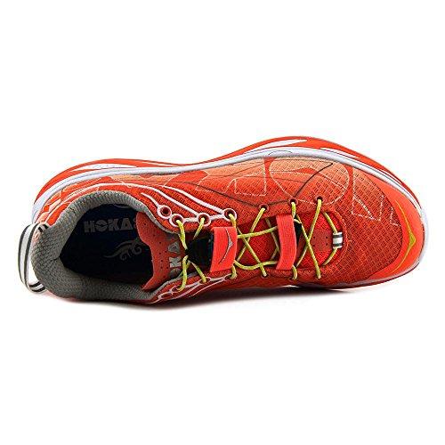 Hoka-One-One-Mens-Huaka-Running-Sneaker-Shoe-coralwhitecitrus-85-BM-US