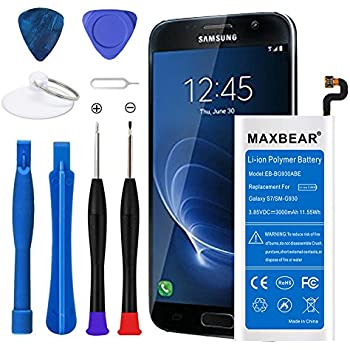 Amazon com: Bastex Samsung Galaxy S7 3000 mAh Replacement Li