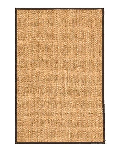 (NaturalAreaRugs Rainier Natural Mt. Grass Fiber Area Rug, Handmade in USA, Mountain Grass, Non-Slip Latex Back, Durable, Stain Resistant, 4' x 6' Beige)