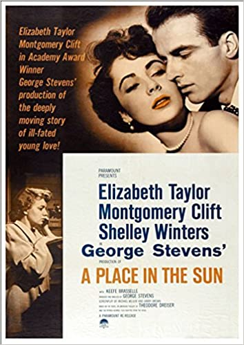 A Place In The Sun' (2) 1951 - Fantastic A4 Glossy Print Taken From A  Vintage Movie Poster: Amazon.co.uk: Design Artist: Books