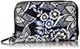 Vera Bradley Rfid Grab and Go Wristlet, Snow Lotus