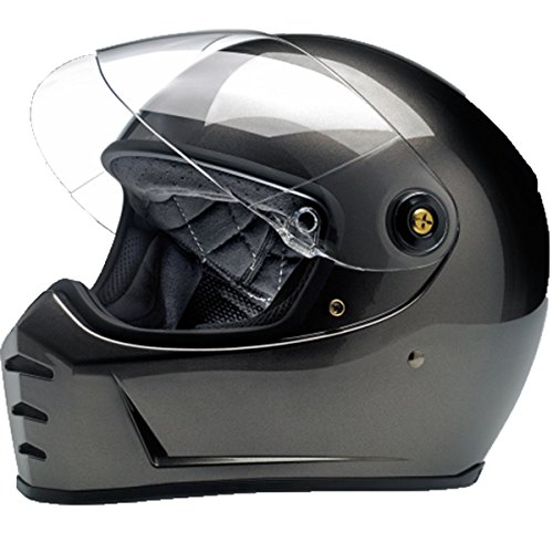 Helmet Metallic - Biltwell Lane Splitter Solid Full-face Motorcycle Helmet - Bronze Metallic / 2X-Large