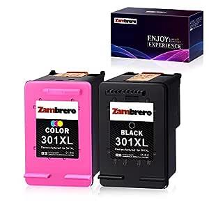 Zambrero Remanufacturado HP 301XL 301 XL Cartuchos de tinta para ...