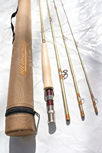 "Whisper: Fly Fishing Rod 6 Weight 9' 0"", 4-piece with Protective Shoulder Case"