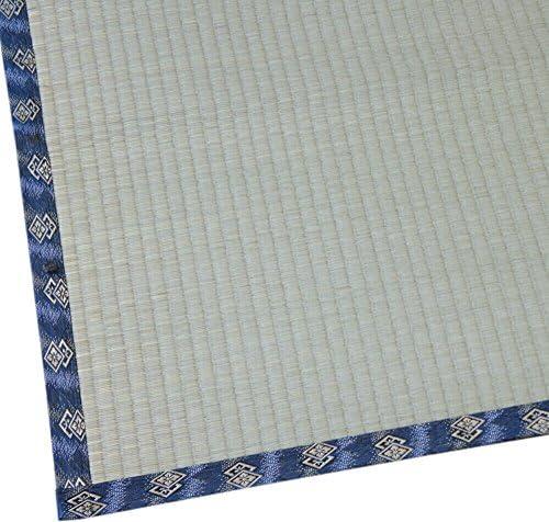 い草上敷 純国産引目織 団地間6畳(255x340cm) 【熊本県八代産い草使用】