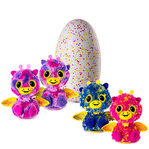 Hatchimals Surprise  Giraven  Hatching Egg with Surprise Twin Interactive Hatchimal Creatures by Spin Master