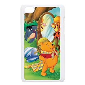 iPod Touch 4 Case White Many Adventures of Winnie the Pooh Phone cover W9294023