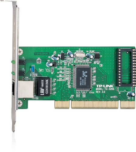 TP-Link 10/100/1000Mbps Gigabit PCI Network Adapter/Card, Includes Low-profile Bracket (TG-3269)