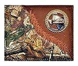 Custom New Badger Texas Praying Cowboy Church Realtree AP Camo Wallet Bi-fold