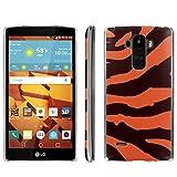 [ArmorXtreme] Phone Case for LG G Stylo LS770 / LG G4 Note Stylus / LG G Stylo H631 / MS631 [Clear] [Ultra Slim Cover Case] - [Tangerine Zebra Stripes] -  ArmorXtreme for LG G Stylo H631