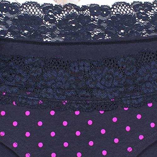 Donna a pizzo Sexy con pois Sexy Biancheria Intimo in da intima sexy cuciture donna ASHOP Blu Body Intimo qPxvwgxZ